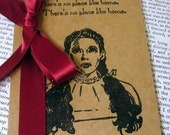 The Wizard of Oz-Dorothy Handmade Altered Kraft Cahier-Perfect Gift or Party Favor