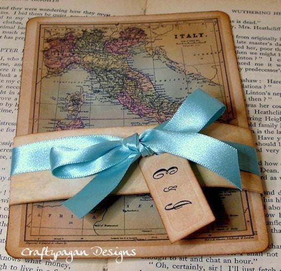 Wedding Gift Etiquette Italy : Items similar to Destination Wedding Invitation Suite on Etsy