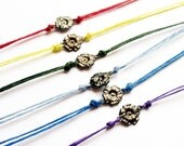 Charm Friendship Bracelet Flower  - Pick a Color