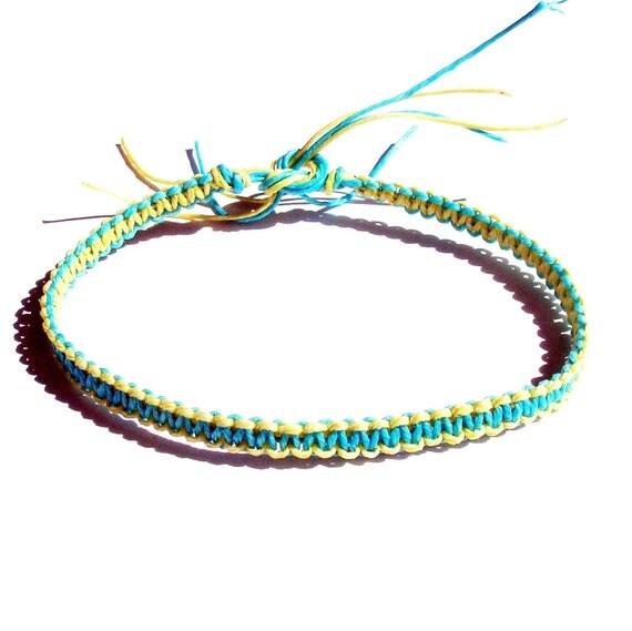 items similar to reversible friendship bracelet square