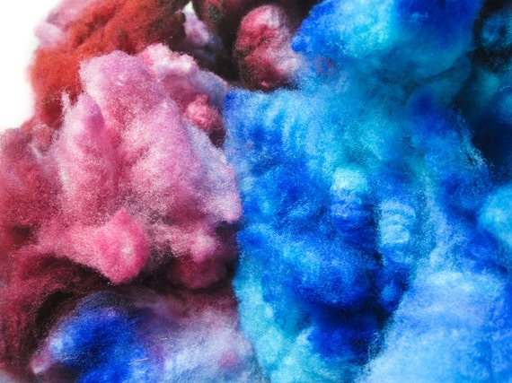 Gypsy - Supersoft Cormo Fleece Hand Dyed