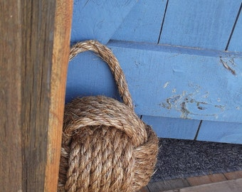 Nautical Rope Doorstop - great Nautical Gift- under 50