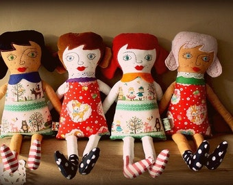 Doll by Agnes - Custom made to order
