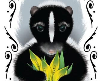 Skunk Cabbage - Susan Effenbergers Happy Art