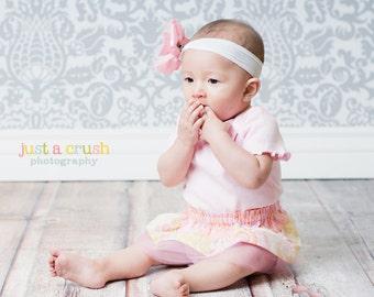 Baby Pattern, PDF Sewing Pattern, The Baby Tutu Skirt 0-12m, girls easy sew