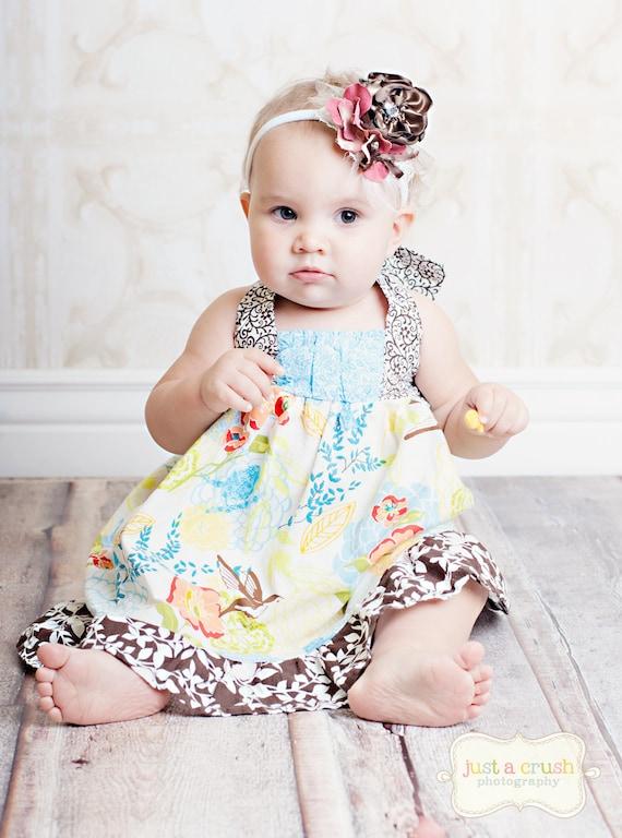 """Girls Dress Pattern, PDF Sewing Pattern, Dress Sewing Patterns """"The Riley Dress"""" 12m-8"""