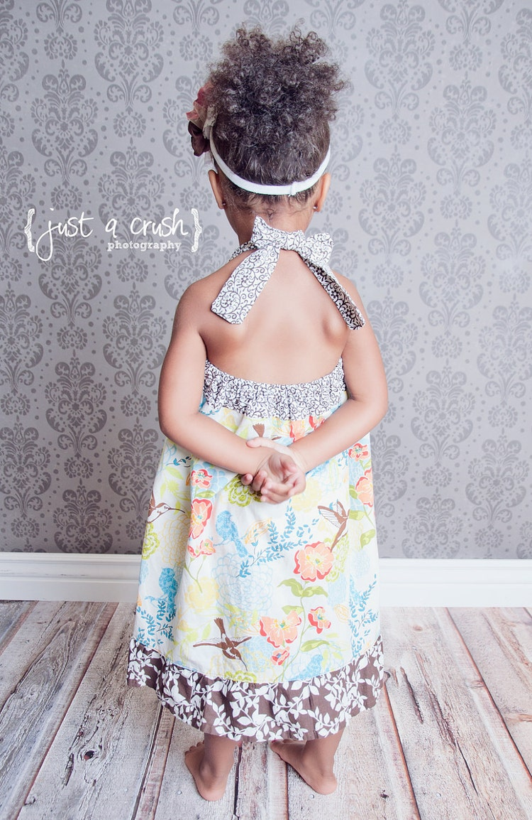 Girls Dress Pattern Apron Dress Pattern Sewing By