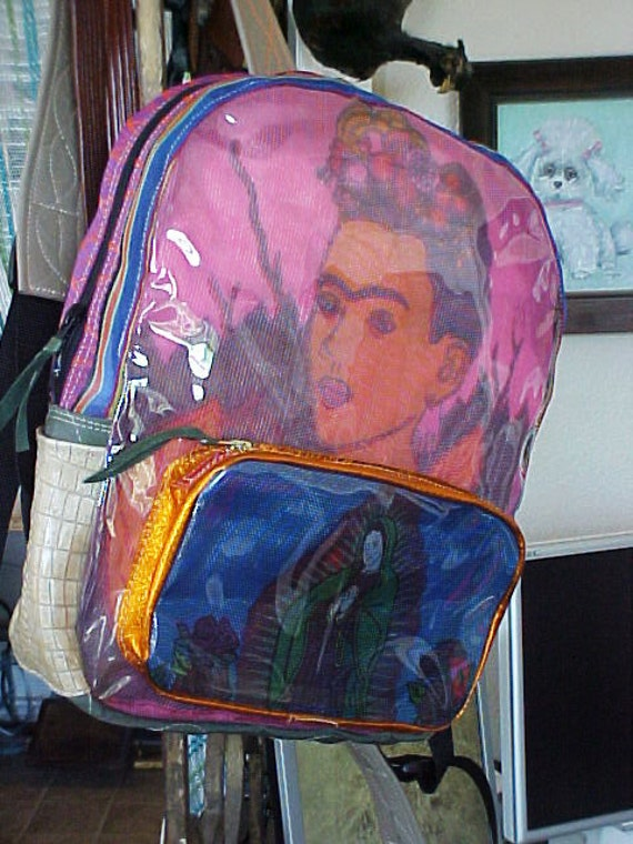 Thingsbuilt  Frida/Guadalupe(Mexican Folklore)  Backpack