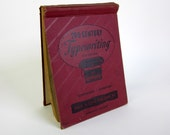 20th Century Typewriting Course Book 1947