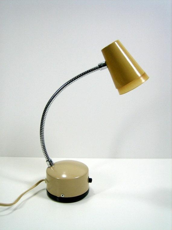 Small Gooseneck Task Lamp.  60s.