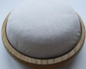 Oak  wooden pincushion form LARGE size