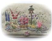 In an English Country Garden Needlecase - Full Kit