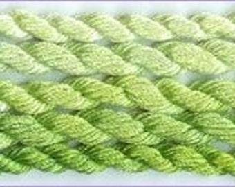Soie d' Alger Tropical Green - Stranded silk