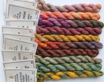 Autumn Garden collection - Stranded Cotton