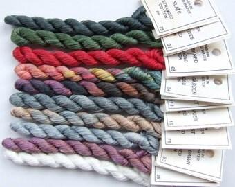 Winter Garden collection - Stranded cotton