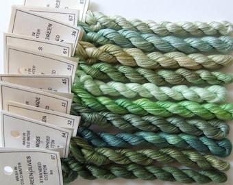 Green Garden collection - Stranded cotton