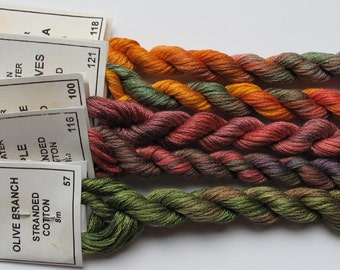 Autumn Colours collection - Stranded cotton