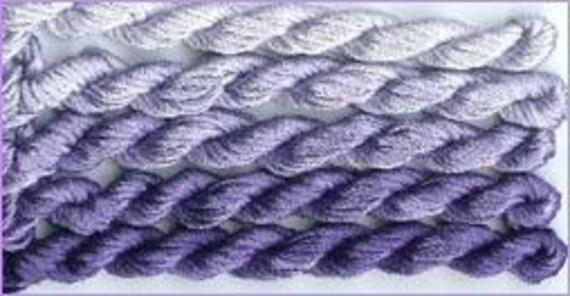 Soie d'Alger Highveld Storm - Stranded silk