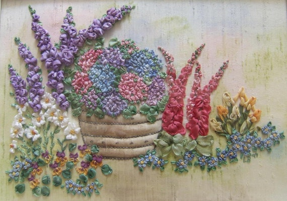 Summer Patio Garden with Pot Pattern and Print Kit