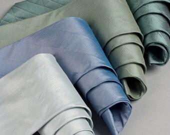 Bespoke tie making service ideal for wedding neckties handmade in England