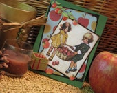 Apple Time Greeting card