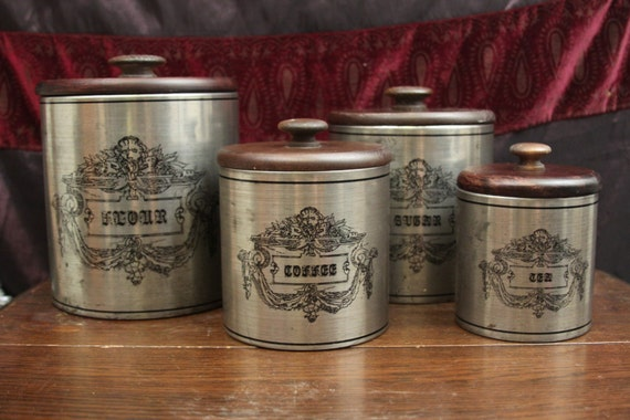 canisters for the kitchen fantastic old fashioned country kitchen canister set flour