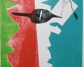 FEATURE west elm Fall 2012 Original Contemporary Art Monoprint : AllThePresidentsMen