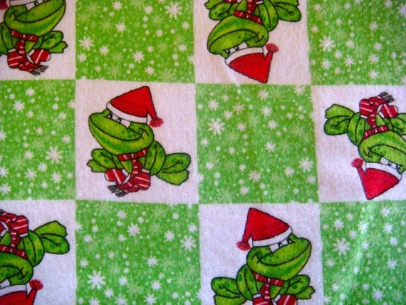 Christmas Cotton Flannel Fabric