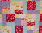 Almost Pastel Quilt ---REDUCED PRICE