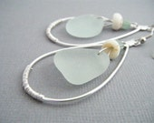 Genuine Sea Glass Earrings