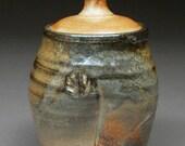 Carbon Trap SHINO Glazed Lidded Cannister Jar