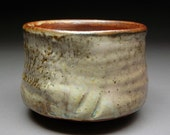 Shino, Slip and Nuka Glazed Matcha Chawan Teabowl TEA CEREMONY Fired Three Times Free Domestic Shipping