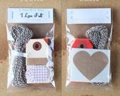 """Mini Gift Wrap Kit / Scrapbooking Kit - """"I Love Fall"""""""