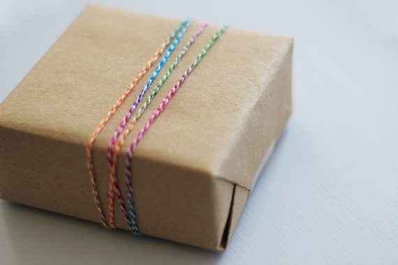 Party Twine - rainbow -  8 yards
