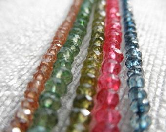 Green necklace - green quartz - green bracelet - H A L E Y 080