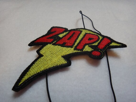 Zap - Comic Headband Embroidery