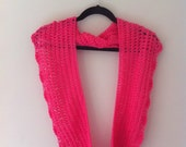 Hot Pink Infinity Cowl