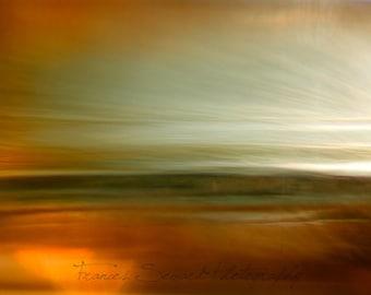 Reflected Sunrise.  Handmade Fine Art Photograph. Giclee