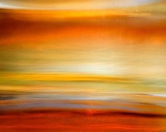 Untitled 779, rainbow colored art, abstract landscape art, abstract sunset art, huge giclee photo, self taught artist, award winning art