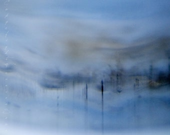 Untitled 737, blue art, abstract landscape, interesting art, all sizes, museum quality art, abstract photo, ready to hang canvas, acrylic