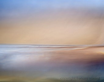 Sea Haze.  Abstract Landscape Photograph. Giclee.  Limited Edition Print