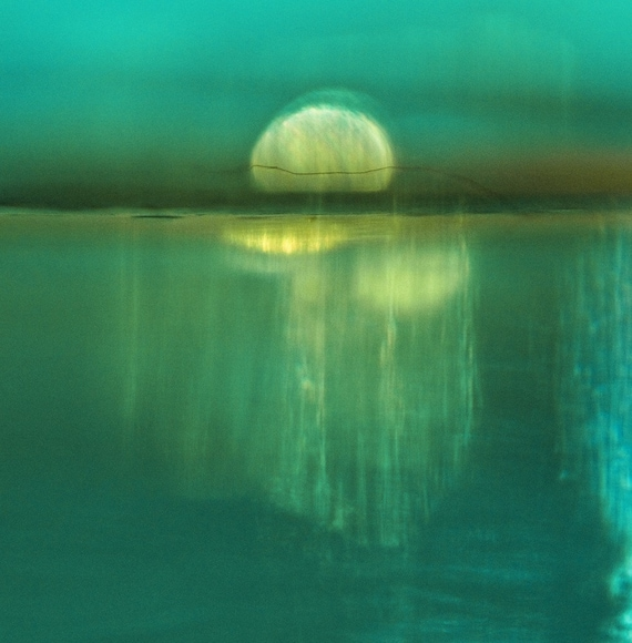 Moonrise - Fine Art Photograph.  Abstract Landscape. Giclee