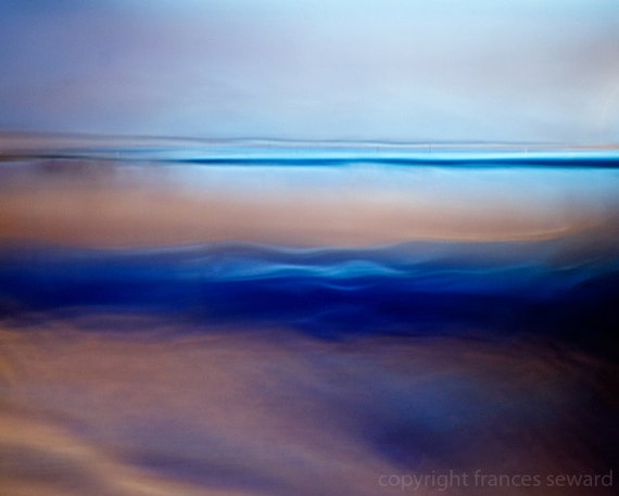 Morning Sea.  Contemporary Landscape.  Archival Pigment Photograph.