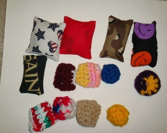 6 Catnip Cat Toys for .99 - crochet and fabric
