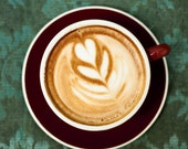 Lovely Latte - Fine Art Photo on 5x5 Bamboo Panel