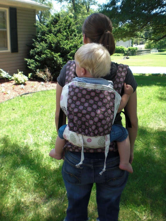 KangaPack - soft structure backpack carrier - custom
