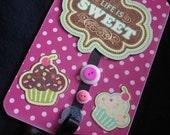 Little Cupcake Door Hanger