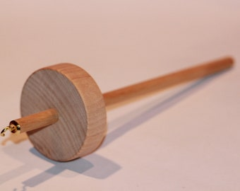 top whorl drop spindle kit learn to spin includes practice roving