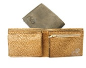 Men's Leather Wallet - a Small Sized Wallet for Men - in PEANUT BUTTER (No. 784)