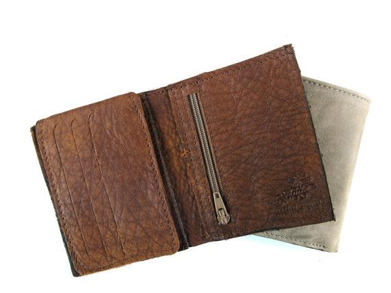 CINNAMON BROWN - men's leather wallet (No. 934)